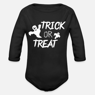 Halloween Halloween - Organic Long-Sleeved Baby Bodysuit