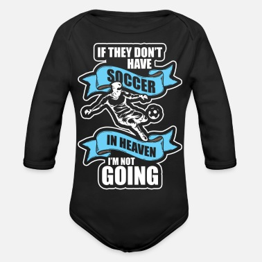 Football Field Football Sports Team - Organic Long-Sleeved Baby Bodysuit