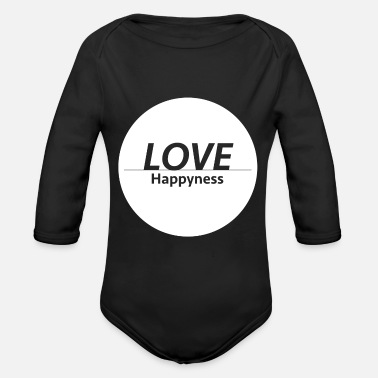 Happiness Love & Happiness - Body bébé bio manches longues