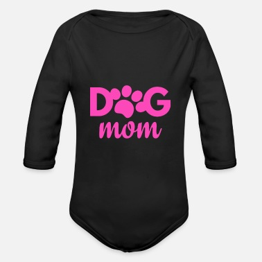 Dog Owner Dog owner dog owner - Organic Long-Sleeved Baby Bodysuit