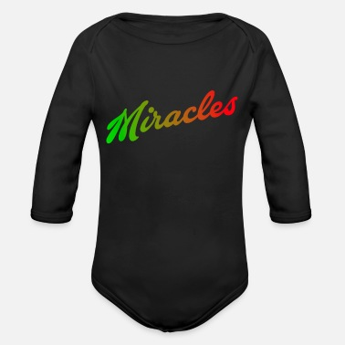 Miracle Miracles - Body bébé bio manches longues