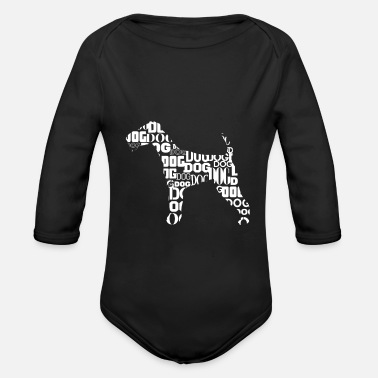 Terrier terrier - Organic Long-Sleeved Baby Bodysuit