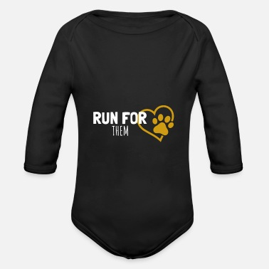 Vincebee Run For Team Paw - Baby Bio Langarmbody