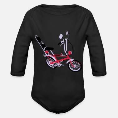 Get to the chopper - Organic Long-Sleeved Baby Bodysuit