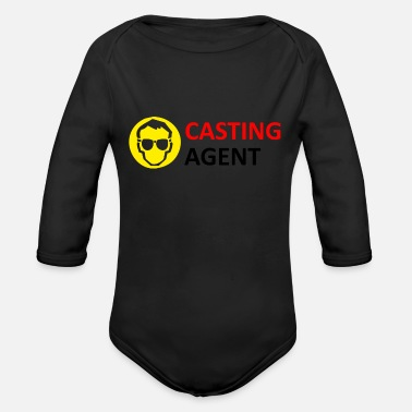 Casting CASTING AGENT - Organic Long-Sleeved Baby Bodysuit