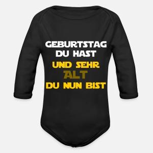 Geburtstag Du Hast Sehr Alt Du Nun Bist W Baby Langarmshirt