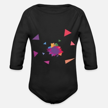 Rectangle Rectangle / rectangle - Organic Long-Sleeved Baby Bodysuit