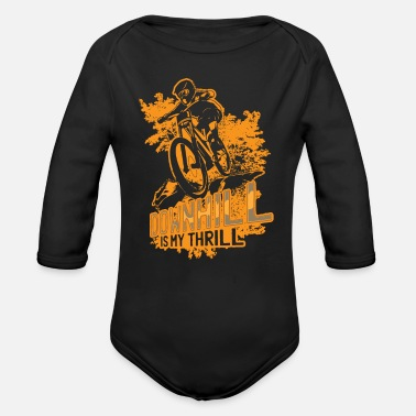 Downhill Downhill - Organic Long-Sleeved Baby Bodysuit