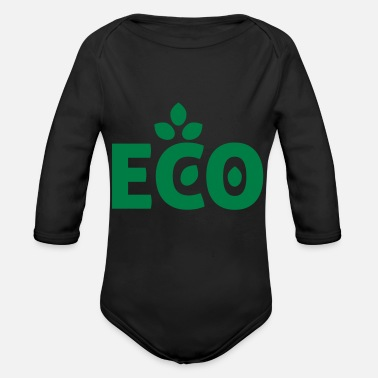 Eco eco - Organic Long-Sleeved Baby Bodysuit