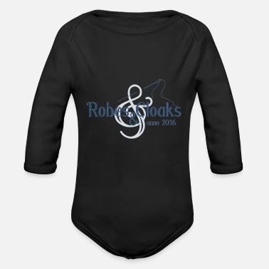 Robes Robes and Cloaks - Organic Long-Sleeved Baby Bodysuit