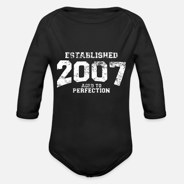 Since established 2007 - aged to perfection (de) - Baby Bio Langarmbody