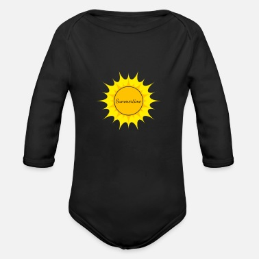 Summertime Summertime - Organic Long-Sleeved Baby Bodysuit