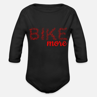 Dutch Bike Bike Bicycle Wheel Tandem Dutch Wheel Gift Idea - Organic Longsleeve Baby Bodysuit