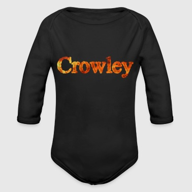 Supernatural Crowley - Body bébé bio manches longues