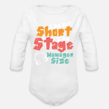 Stage Stage manager, stage manager - Organic Long-Sleeved Baby Bodysuit