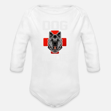 Rescue Dog Rescue Dog Rescue Dogs Rescue Dog Squadron - Organic Long-Sleeved Baby Bodysuit