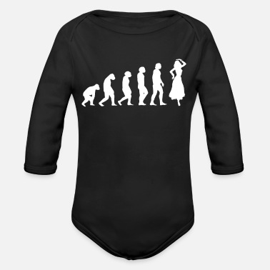 Dance Studio Belly Dance Studio - Organic Long-Sleeved Baby Bodysuit