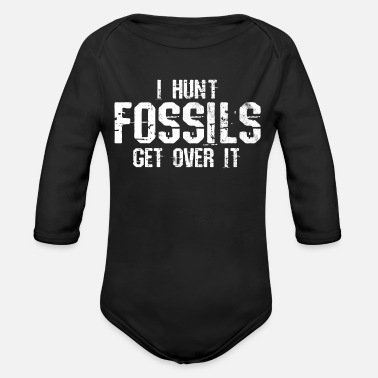 Fossil fossil - Organic Long-Sleeved Baby Bodysuit