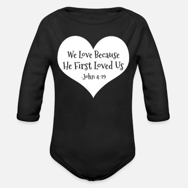 Christian Bible - Organic Long-Sleeved Baby Bodysuit