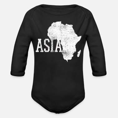 Asia Asia - Organic Long-Sleeved Baby Bodysuit
