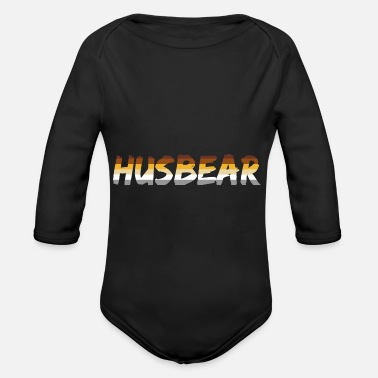 Community HUSBEAR GAY LGBT PRIDE Bear Community - Vauvan pitkähihainen body