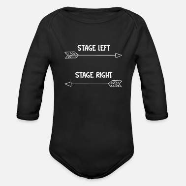 Theatre theatre - Organic Long-Sleeved Baby Bodysuit