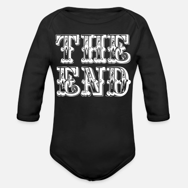 End the end | The end - Organic Long-Sleeved Baby Bodysuit