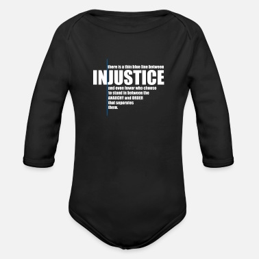 Injustice INJUSTICE! GIFT IDEA - Organic Long-Sleeved Baby Bodysuit