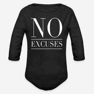 No Excuses No excuses - No excuses - Organic Long-Sleeved Baby Bodysuit