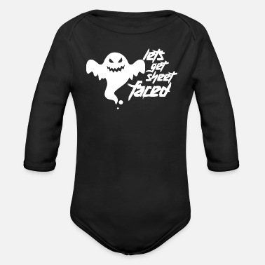 Cladding Let's face it - Organic Long-Sleeved Baby Bodysuit