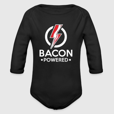 Taste Bacon Powered - lightning taste morning - Baby bio-rompertje met lange mouwen