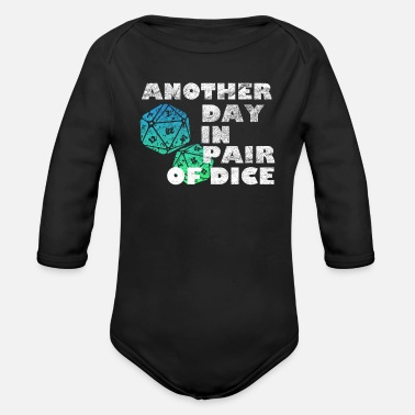 Dice Dice the dice - Organic Long-Sleeved Baby Bodysuit
