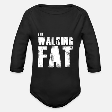 Fat Fat fat gift for fat - Organic Long-Sleeved Baby Bodysuit
