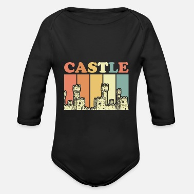 Orders Of Chivalry Order of knights castle - Organic Long-Sleeved Baby Bodysuit