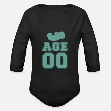 Age Age 00 - age 00 - Organic Long-Sleeved Baby Bodysuit