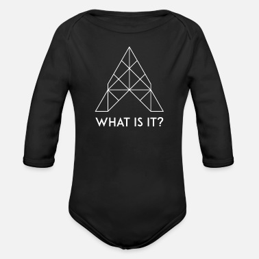 What What is it? / What is it? - Organic Long-Sleeved Baby Bodysuit