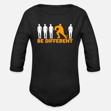 Be Different Hockey - Be different - Ekologisk långärmad babybody