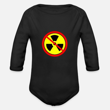 Anti Nuclear Power Anti nuclear power Castor nuclear power plants Gorleben demo - Organic Long-Sleeved Baby Bodysuit