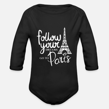 Dreams Paris - Baby Bio Langarmbody