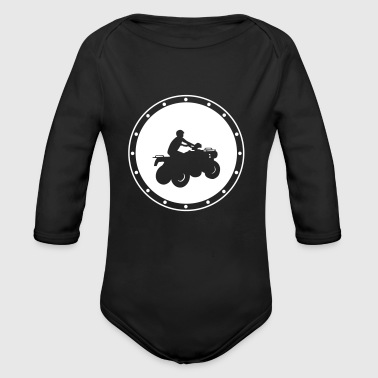 Quad T-Shirts - Baby Bio-Langarm-Body