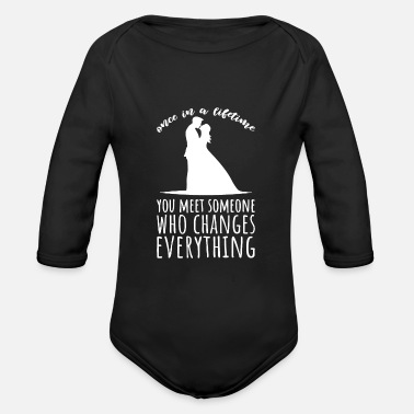Marriage Engagement Fiancee Wedding Request Ring Engagement Ve - Organic Long-Sleeved Baby Bodysuit