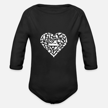 Under Water Under water - Organic Long-Sleeved Baby Bodysuit