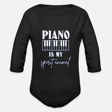 Classical Music Classical music - Organic Long-Sleeved Baby Bodysuit