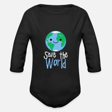 Environmental Protection environmental Protection - Organic Long-Sleeved Baby Bodysuit
