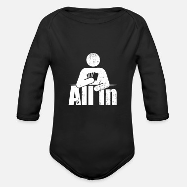 All All In - Organic Long-Sleeved Baby Bodysuit