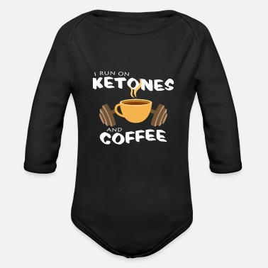Keto keto - Organic Long-Sleeved Baby Bodysuit