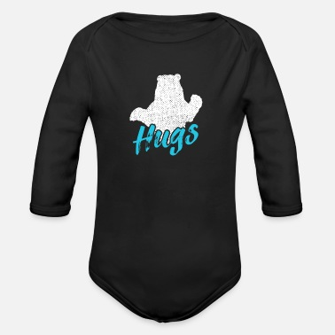 Discovery Channel bear - Organic Long-Sleeved Baby Bodysuit