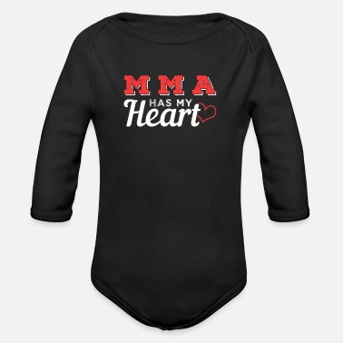 Mma MMA - Organic Long-Sleeved Baby Bodysuit