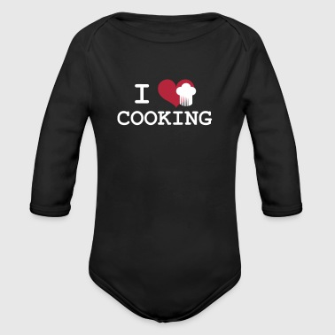 I Love Cooking - Baby Bio-Langarm-Body