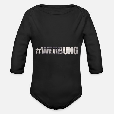 Advertising advertising - Organic Long-Sleeved Baby Bodysuit